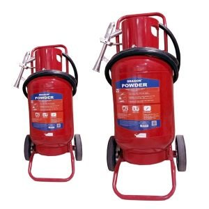 Bình chữa cháy xe đẩy bột BC MFZ35 35kg