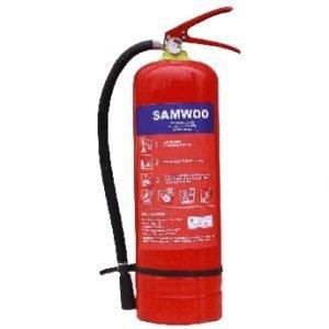 Bình chữa cháy bột ABC 4kg Samwoo MFZL4