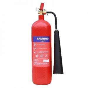 Bình chữa cháy khí CO2 3kg Samwoo MT3