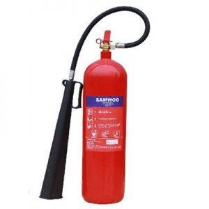 Bình chữa cháy khí CO2 5kg Samwoo MT5