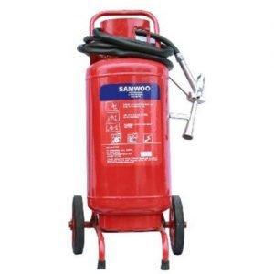 Bình chữa cháy xe đẩy bột BC 35kg Samwoo MFTZ35