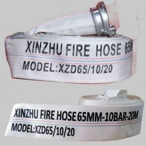 Cuộn vòi chữa cháy PVC Xinzhu XZD65/10/20 - 65mm-10Bar-20m