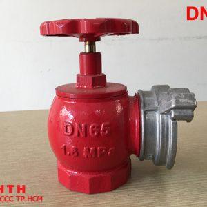 Van góc chữa cháy DN65