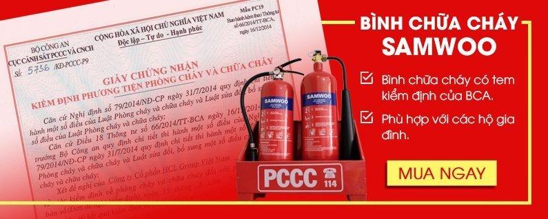 bình chữa cháy samwoo pccc tphcm