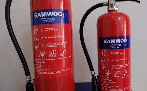 Thông số kỹ thuật Bình chữa cháy bột BC
