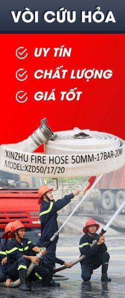 Vòi chữa cháy kèm đầu nối