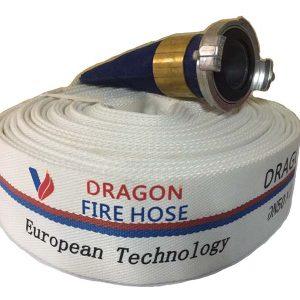Cuộn vòi chữa cháy Dragon DN50 20 mét, 13 bar
