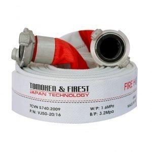 Cuộn vòi chữa cháy TOMOKEN HOSE D50 X 1.6MPA X 20M