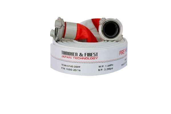 Cuộn vòi chữa cháy TOMOKEN HOSE D50 X 1.6MPA X 30M