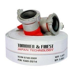 Cuộn vòi chữa cháy TOMOKEN HOSE D65 X 1.6MPA X 30M