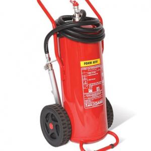 Bình chữa cháy xe đẩy bọt Foam Renan 45 lít