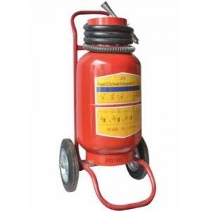 Bình chữa cháy Renan xe đẩy MFTZL35 bột ABC 35kg
