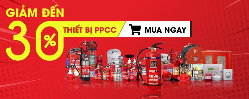 giảm 30% thiết bị PCCC TPHCM