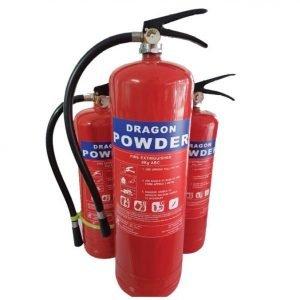 Bình chữa cháy Dragon Powder MFZL8 bột ABC 8kg