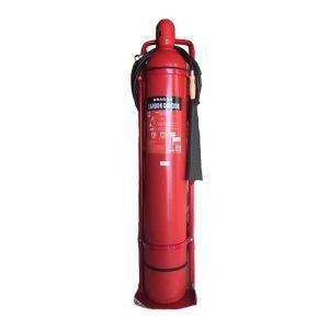 Bình chữa cháy xe đẩy Dragon khí CO2 MT24 24kg