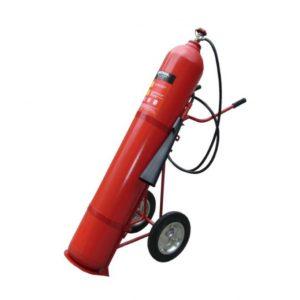 bình chữa cháy xe đẩy Muntrol CO2 25kg