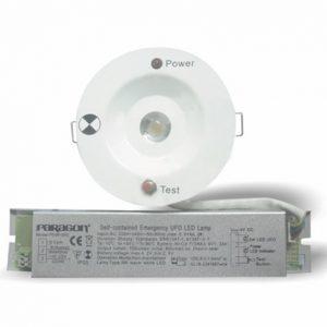 Đèn sự cố âm trần Paragon 3W PEMF3RC-G2