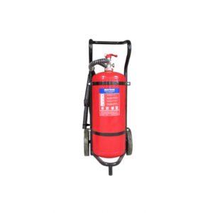 Bình chữa cháy xe đẩy Muntrol 50kg ABC