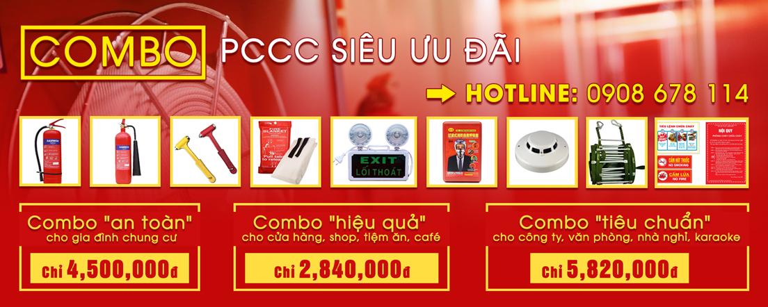 Combo thiết bị PCCC TPHCM