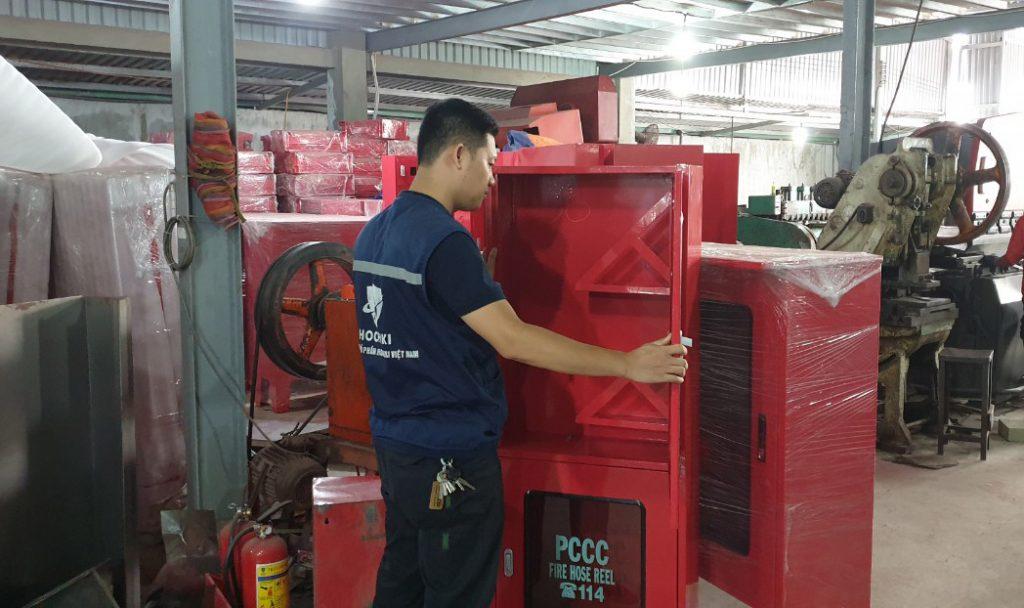 Các loại hộp tủ chữa cháy