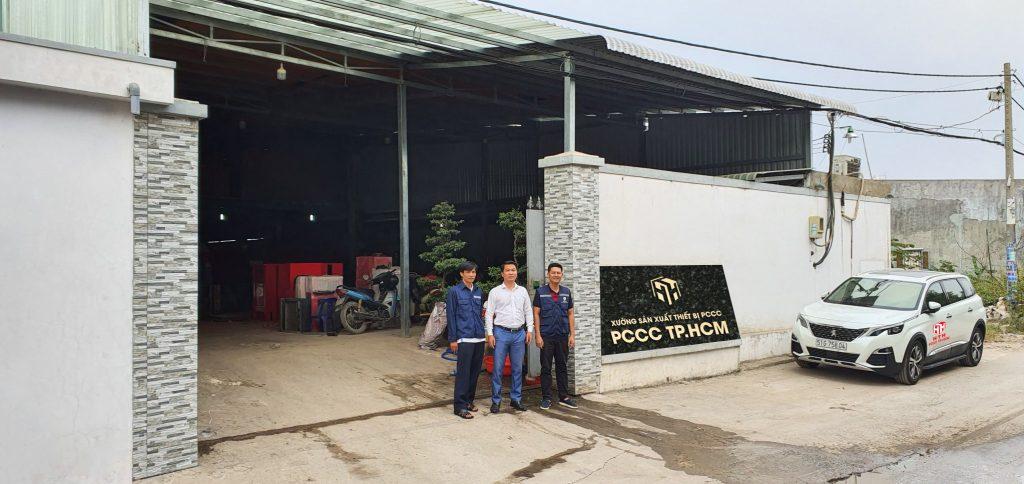 Xưởng sản xuất thiết bị PCCC tại TPHCM của HTH