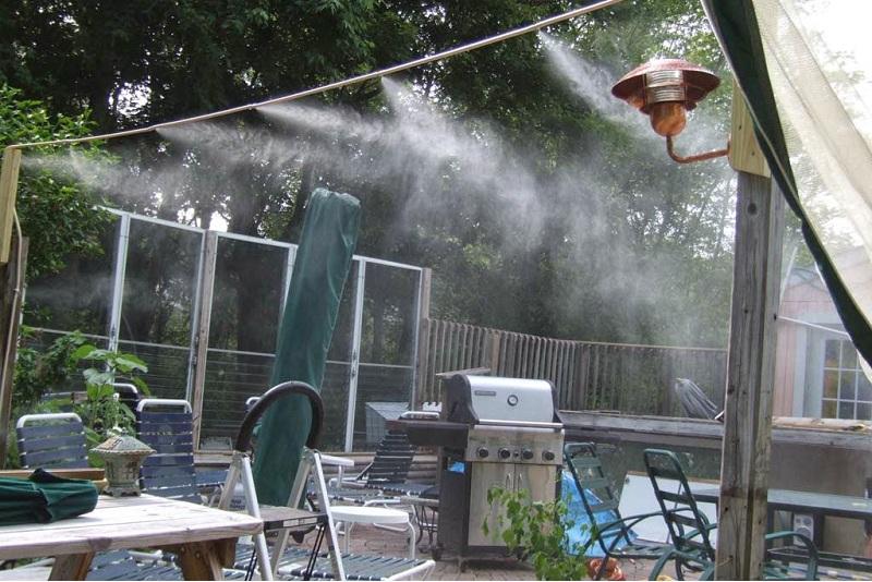 Hệ thống phun sương tại TPHCM